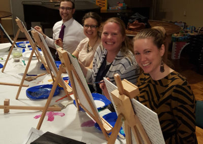 Adath Israel CT Paint Night